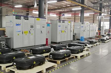 750V Test machine used for battery factory     ( located at SZ )